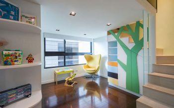 儿童房吊顶现代风格装潢图片