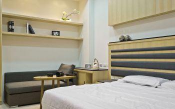 卧室简约风格装饰设计图片