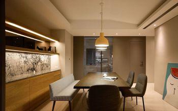 现代风格风格100平米三室一厅新房装修效果图