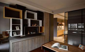 书房推拉门现代风格装饰设计图片