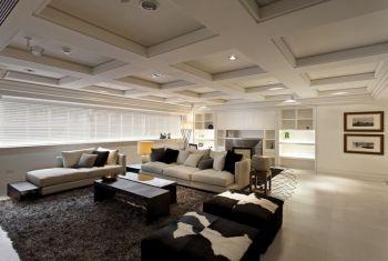 现代简约风格舒适四居室装修效果图