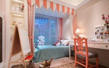 儿童房书桌欧式风格装潢设计图片