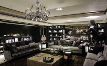 新古典风格120平米3房1厅房子装饰效果图