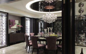 餐厅灯具新古典风格装修设计图片