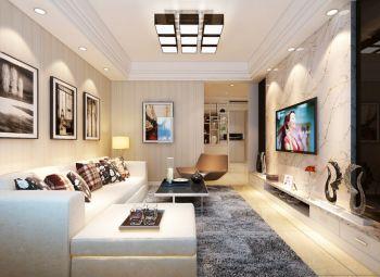 简约风格100平米3房2厅房子装饰效果图