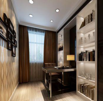 书房窗帘简约风格装饰图片