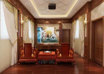 起居室窗帘古典风格装修效果图