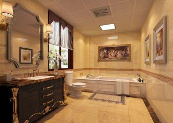 卫生间地板砖古典风格装饰效果图