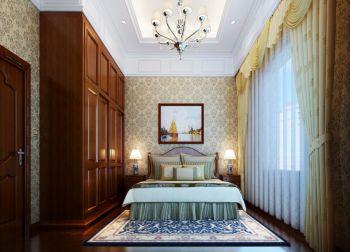 卧室窗帘古典风格装饰图片