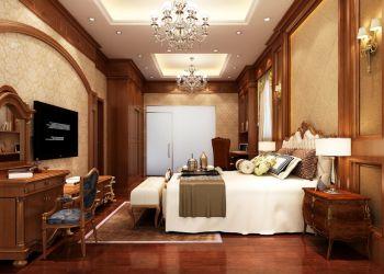 卧室灯具古典风格装潢图片
