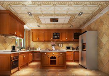厨房吊顶古典风格装修设计图片