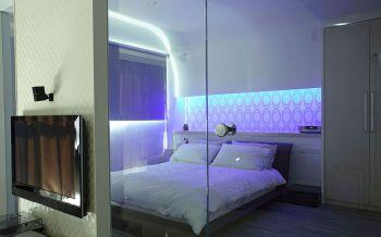 卧室隐形门现代风格装饰效果图