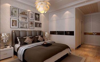 卧室衣柜简欧风格装潢图片
