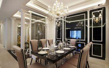 餐厅灯具现代欧式风格装饰效果图