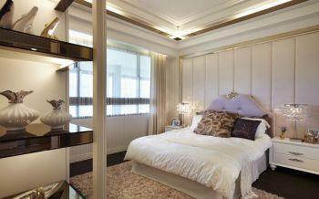 卧室窗帘现代欧式风格装潢图片