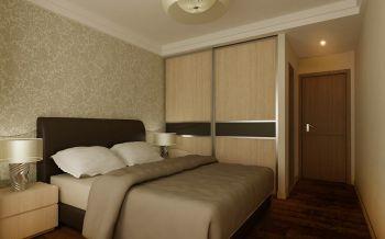 卧室黄色衣柜现代简约风格装饰图片