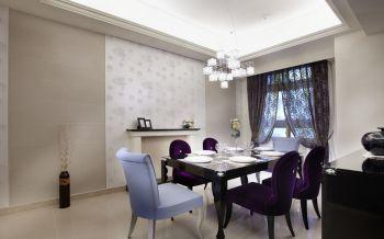 餐厅灯具简欧风格装饰设计图片