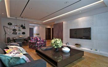 现代简约风格90平米2房2厅房子装饰效果图