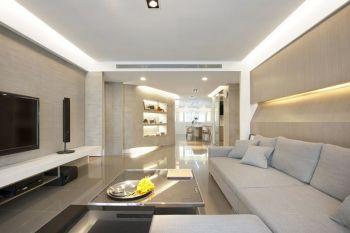 现代简约风格130平米3房2厅房子装饰效果图