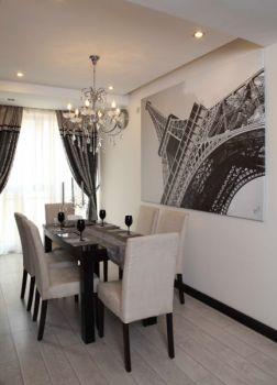 餐厅背景墙现代风格装饰设计图片