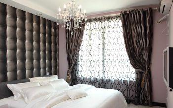现代混搭欧式风白色婚房装修效果图