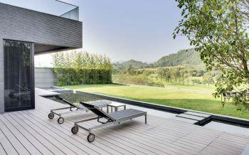 阳台细节现代欧式风格装潢效果图