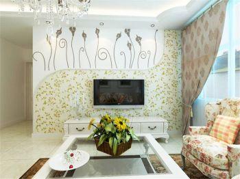 客厅田园风格装饰图片