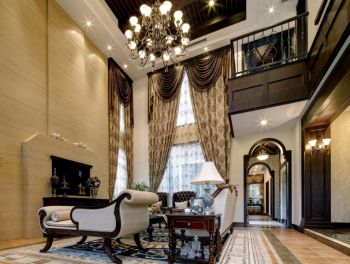 欧式风格120平米四室两厅新房装修效果图
