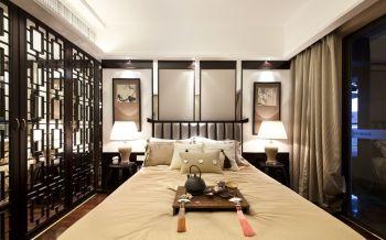 卧室隔断中式风格装饰效果图