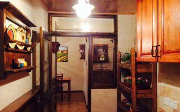 厨房灯具地中海风格装潢设计图片