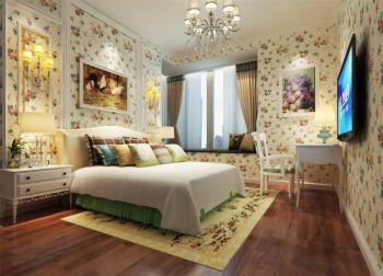 卧室地板砖田园风格效果图