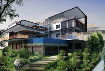 现代风格150平米4房1厅房子装饰效果图