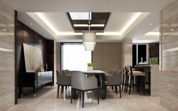 餐厅地板砖现代风格装潢图片