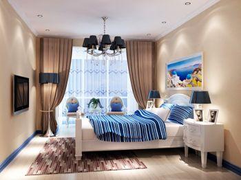 卧室地中海风格装修图片