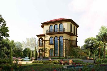 美式风格180平米别墅房子装饰效果图