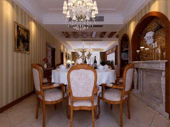 餐厅美式风格装饰效果图