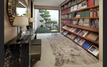 书房书架混搭风格装饰效果图
