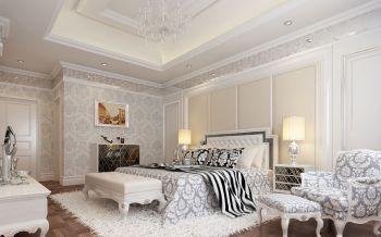 卧室灯具简欧风格装潢设计图片