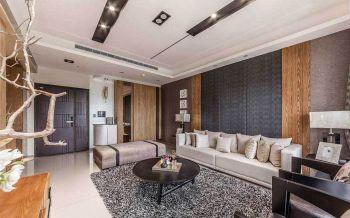 现代简约风格119平米3房1厅房子装饰效果图