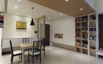 餐厅隔断现代简约风格装潢设计图片