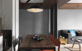 餐厅餐桌简约风格装潢效果图