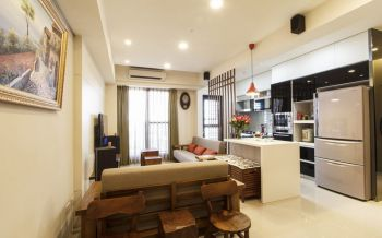 简约风格80平米小面积房子装饰效果图
