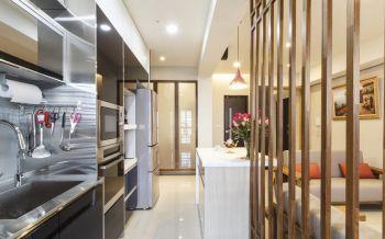 厨房隔断简约风格装修效果图