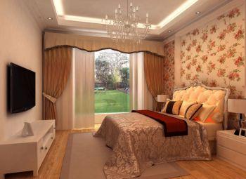 卧室灯具简欧风格装潢图片