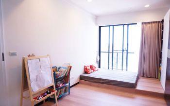 2018现代简约儿童房装饰设计 2018现代简约落地窗效果图