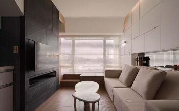 现代简约风格90平米复式房子装饰效果图
