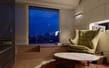 现代简约风格精致小复式家居装修效果图