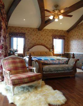 卧室地板砖东南亚风格装修效果图