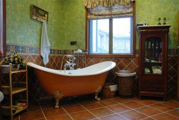 卫生间背景墙东南亚风格装饰效果图