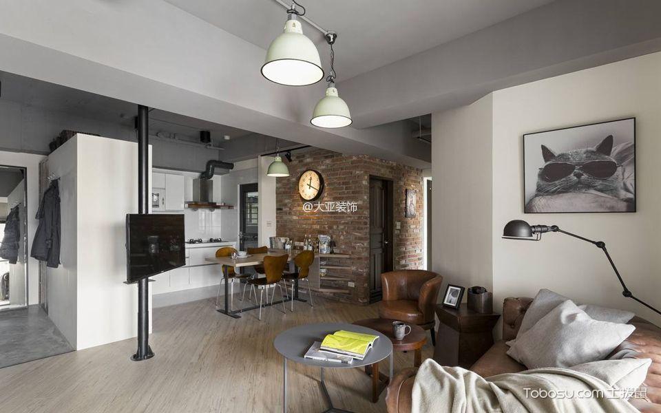 一室一厅装修设计图:三寸天堂惟愿与你共享